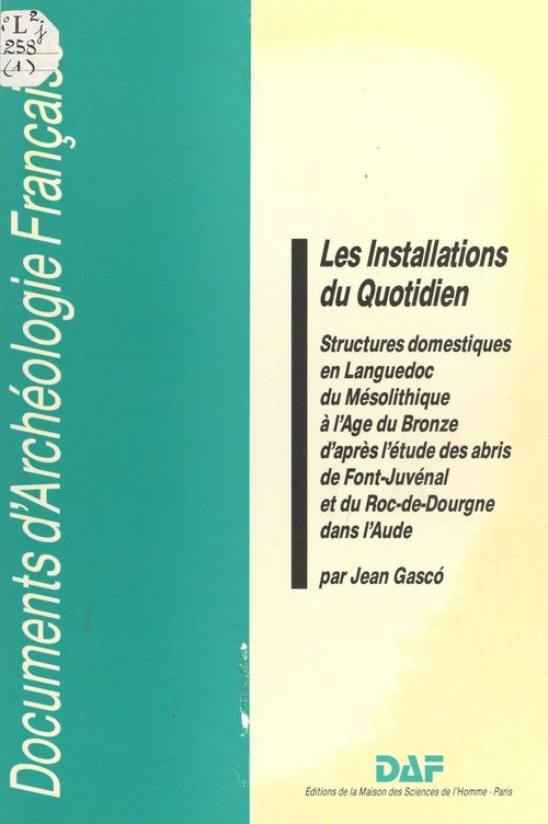 Les Installations du quotidien  - Gasco  - Jean Gasco
