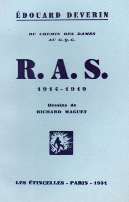 R.A.S. du chemin des dames au G.Q.G. 1914-1918