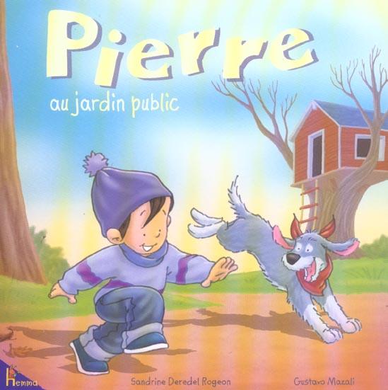 Pierre au jardin public