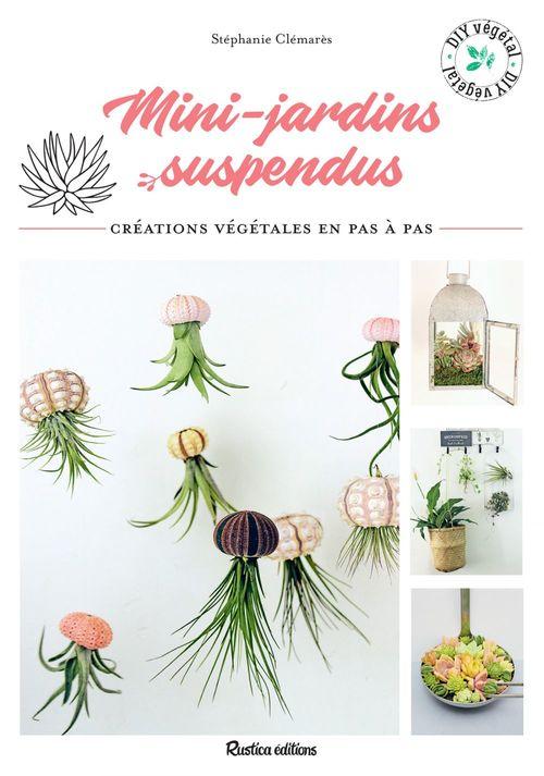 Minis jardins suspendus ; créations végétales en pas à pas