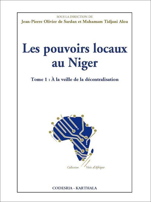 Les Pouvoirs locaux au Niger
