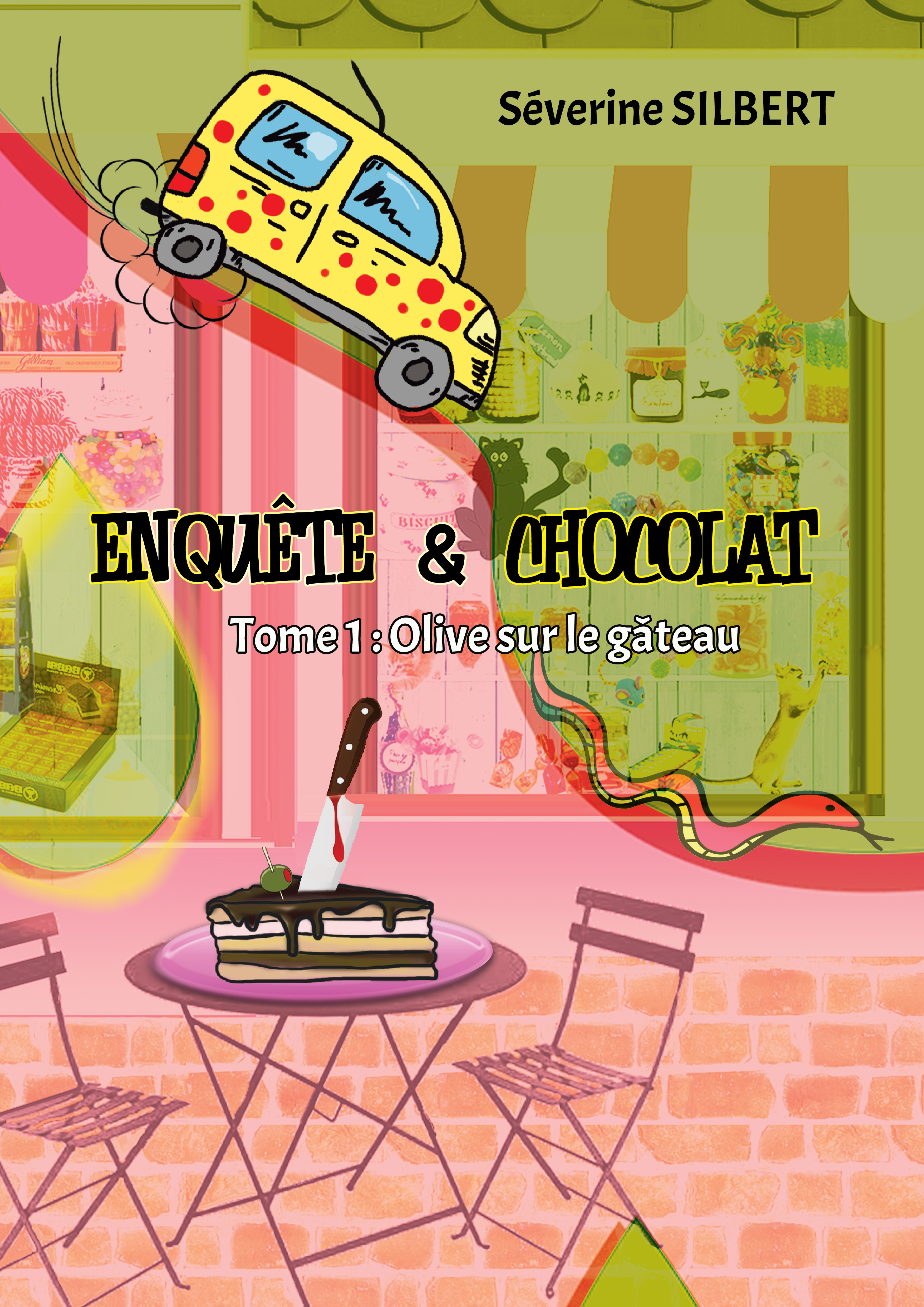 Enquête et chocolat t.1 ; olive sur le gâteau