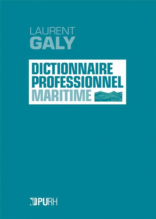 Le dictionnaire professionnel maritime