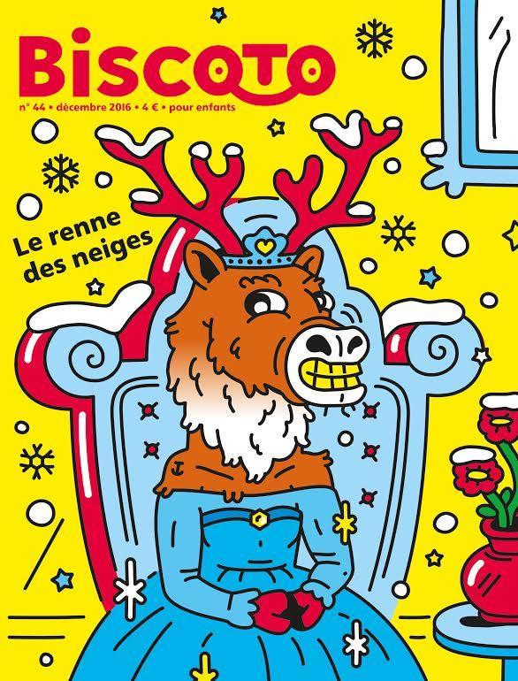 Journal biscoto n.44 ; le renne des neiges