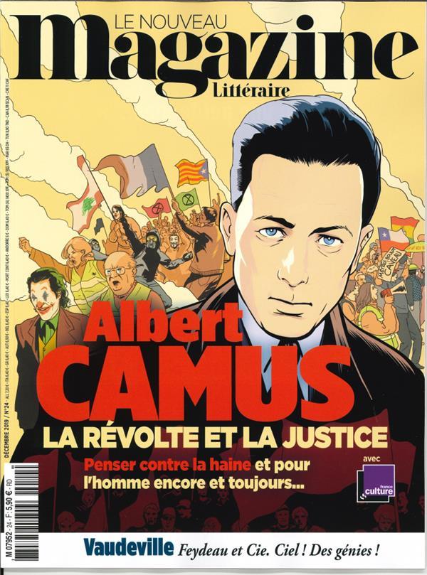 Le nouveau magazine litteraire n 24 albert camus  - decembre 2019