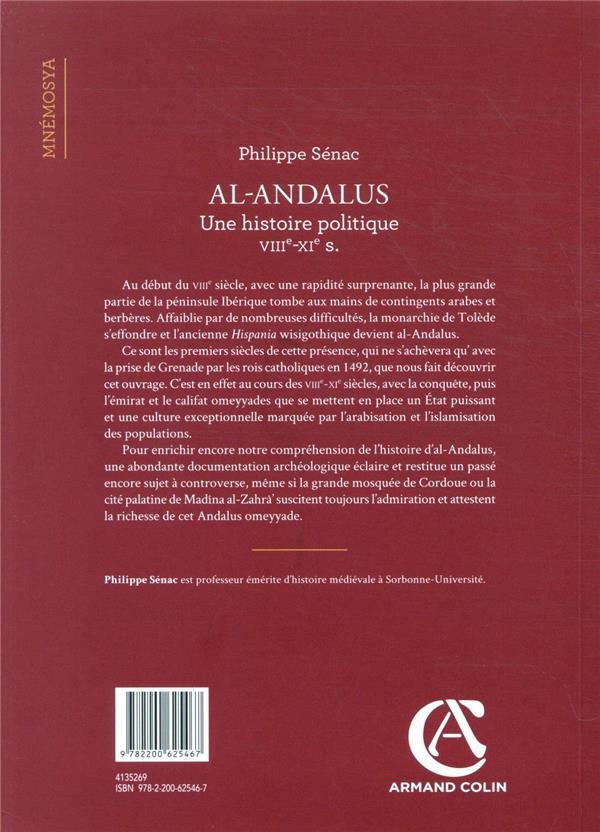 Al-Andalus ; une histoire politique VIIIe-XIe s.