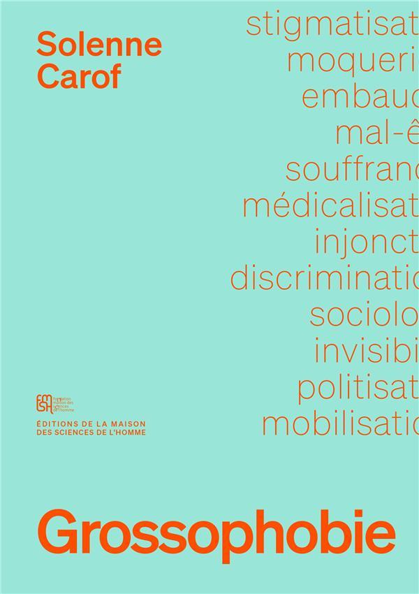 Grossophobie. sociologie d'une discrimination invisible