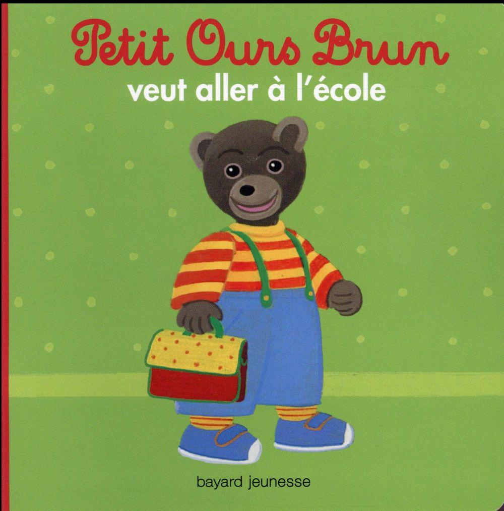Petit Ours Brun veut aller à l'école