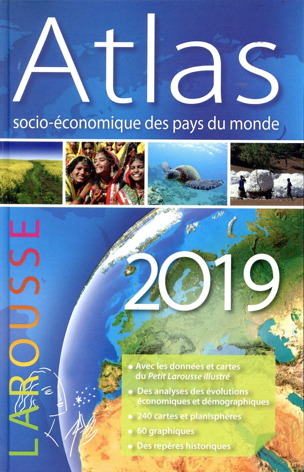 Atlas socio-économique des pays du monde (édition 2019)