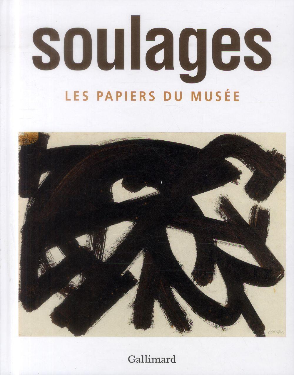 Musée Soulages ; les papiers