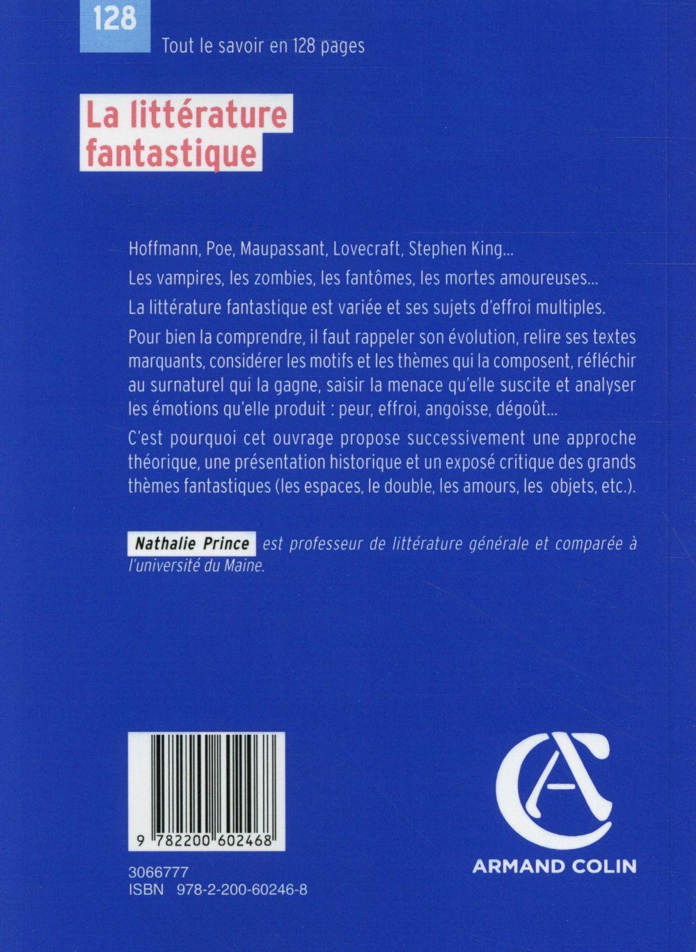 la littérature fantastique (2e édition)