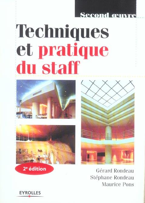 Techniques Et Pratique Du Staff 2eme Edition 2005 (2e Edition)