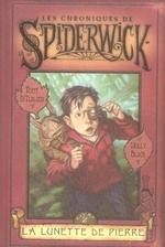 Couverture de Les chroniques de spiderwick t.2 ; la lunette de pierre
