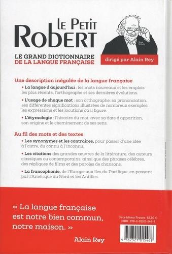 Dictionnaire le petit Robert de la langue française (édition 2021)