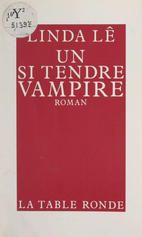 Un si tendre vampire
