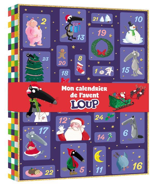 Mon calendrier de l'avent Loup