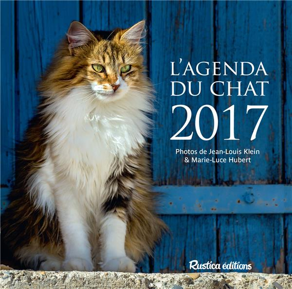 L'agenda du chat 2017