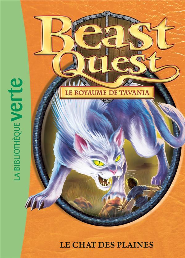 Beast Quest T.44 ; le chat des plaines