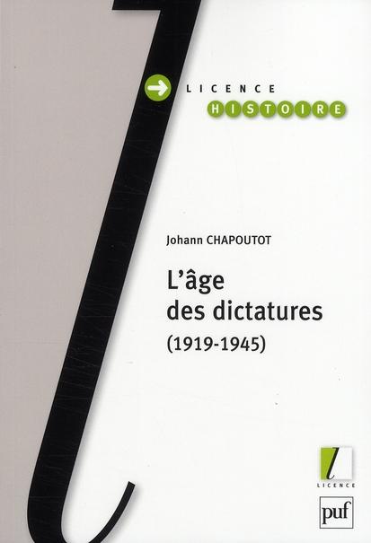 L'âge des dictatures