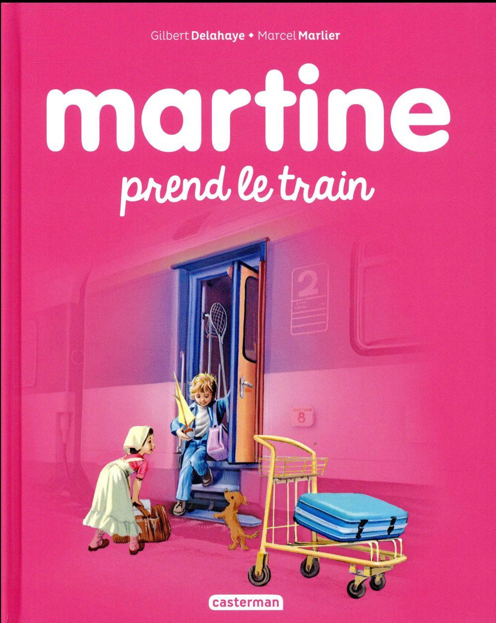 Martine T.28 ; Martine prend le train