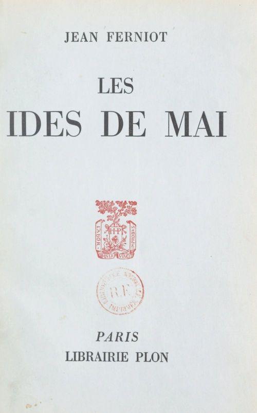 Les ides de mai