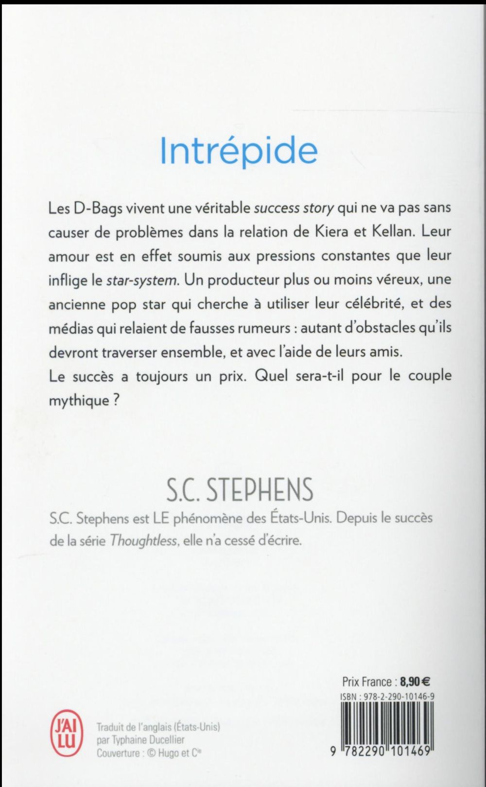 thoughtless t.3 ; intrépide