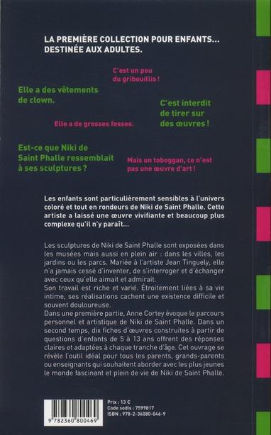Comment parler de Niki de Saint Phalle aux enfants?