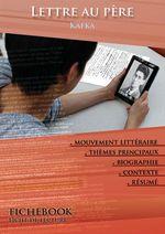 Vente Livre Numérique : Fiche de lecture Lettre au père - Résumé détaillé et analyse littéraire de référence  - Franz Kafka