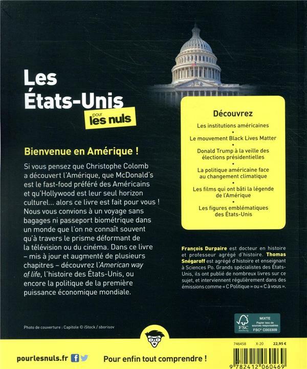 Les Etats-Unis pour les nuls (3e édition)