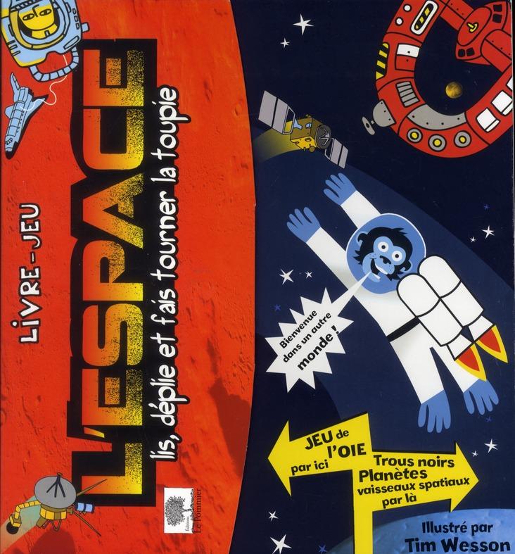 L'espace ; livre-jeu