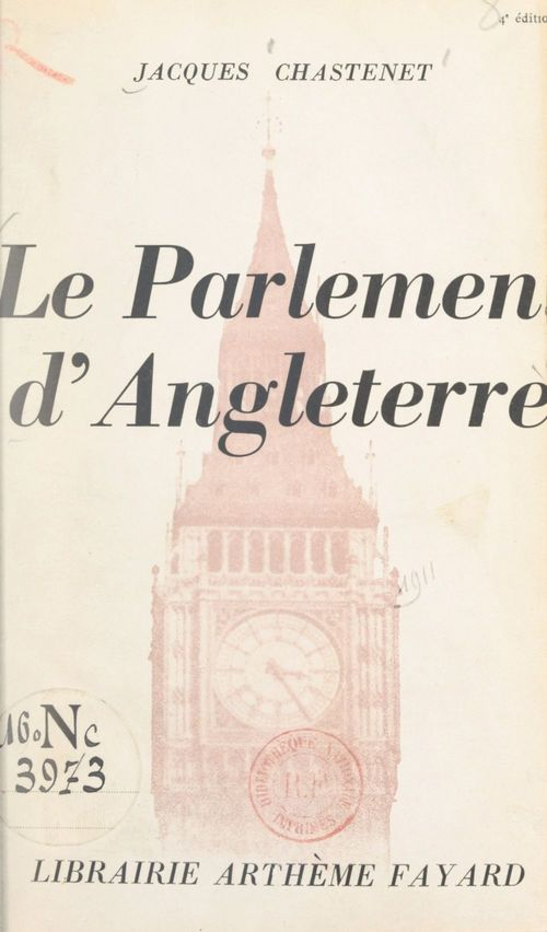 Le Parlement d'Angleterre