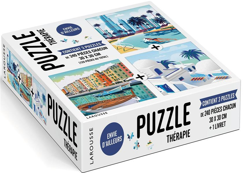 Puzzle thérapie ; envie d'ailleurs