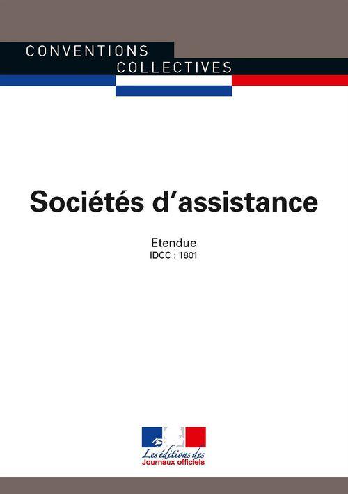 Sociétés d'assistance ; convention collective nationale étendue ; IDCC 1801 (5e édition)