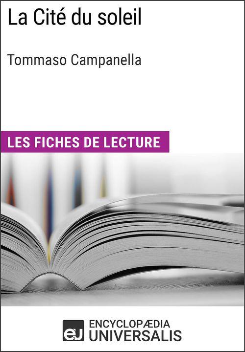 La Cité du soleil de Tommaso Campanella
