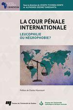 Vente EBooks : La Cour pénale internationale