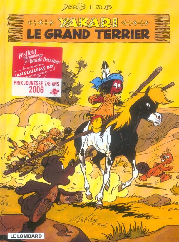 Yakari T.10 ; le grand terrier