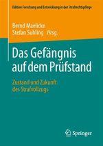 Das Gefängnis auf dem Prüfstand  - Stefan Suhling - Bernd Maelicke
