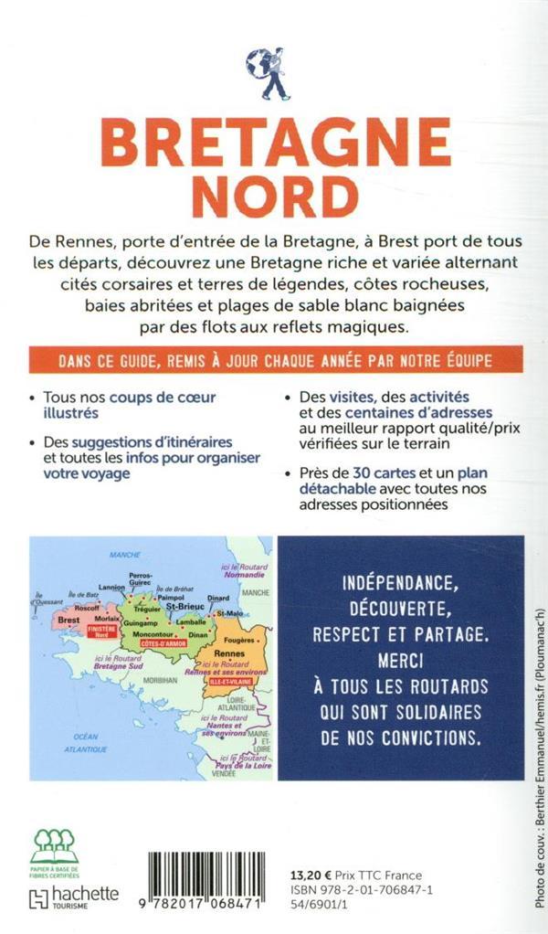 Guide du Routard ; Bretagne nord (édition 2020)