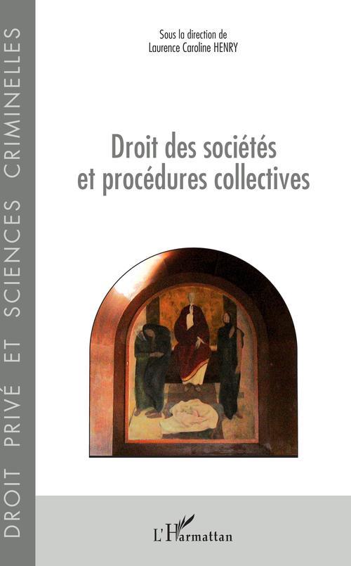 Vente EBooks : Droit des sociétés et procédures collectives  - Laurence Caroline Henry