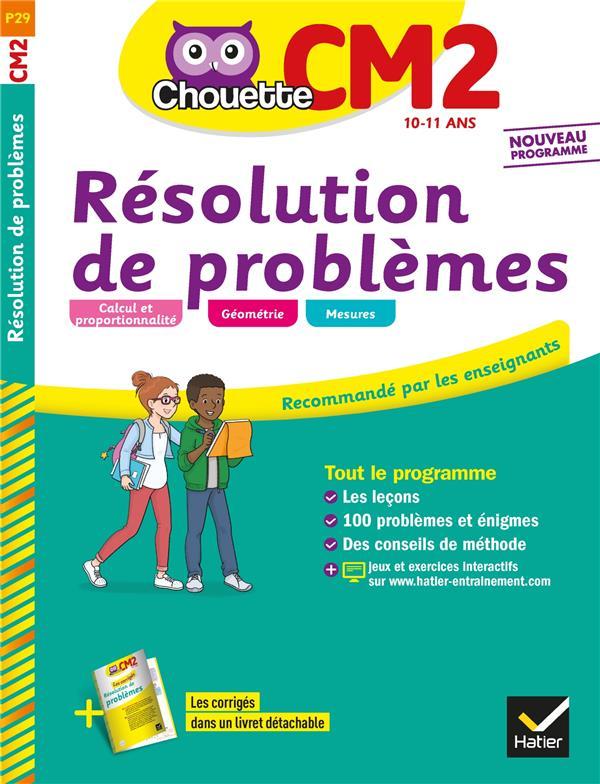 Chouette ; résolution de problèmes ; CM2