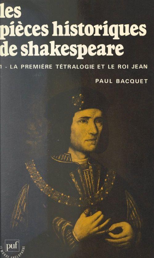 Les pièces historiques de Shakespeare (1)