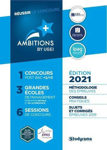 Reussir le concours ambition + (édition 2021)