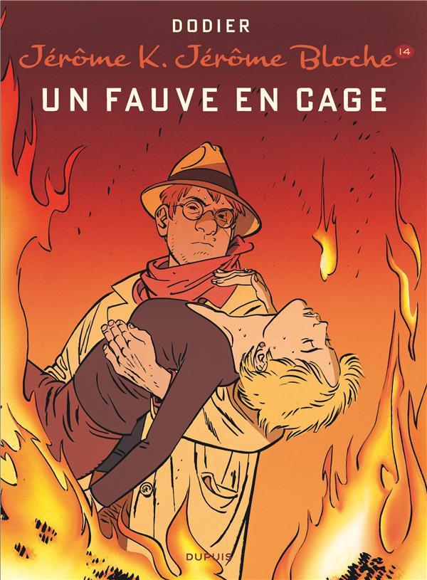 Jérôme K. Jérôme Bloche t.14 ; un fauve en cage