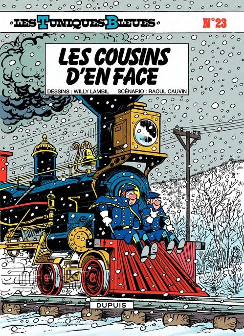 Les Tuniques Bleues t.23 ; les cousins d'en face