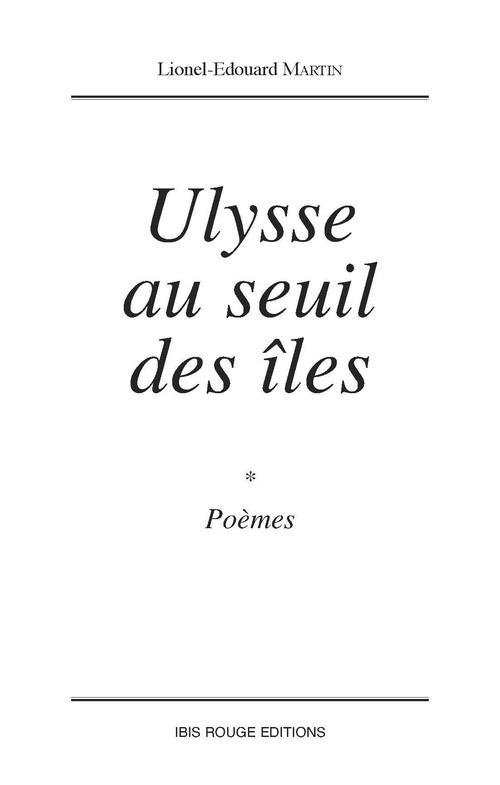 Ulysse au seuil des iles
