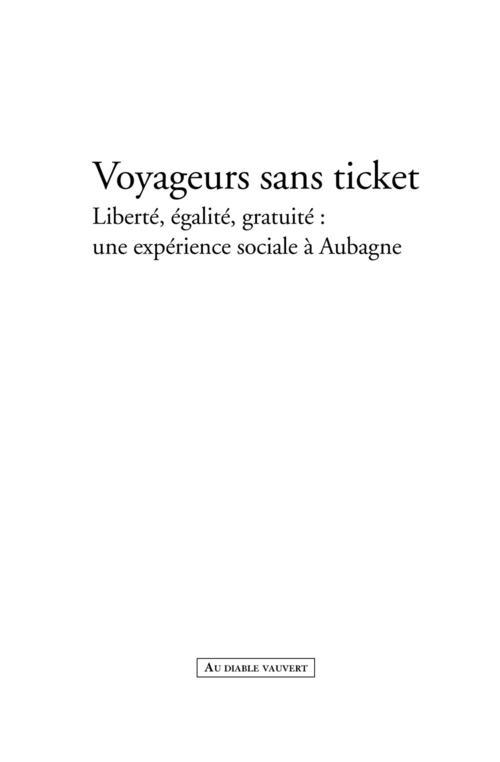 Voyageurs sans ticket