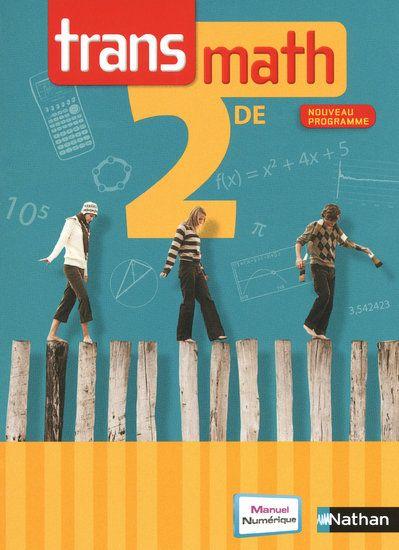 Transmath 2e Format Compact Livre De L'Eleve 2010