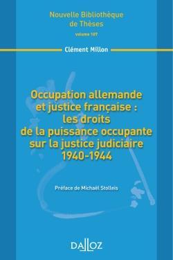 Occupation allemande et justice française