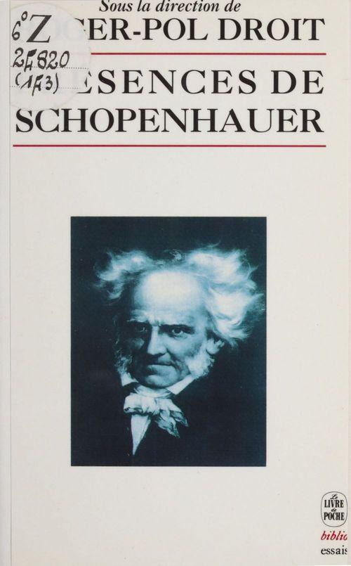 Presences de schopenhauer