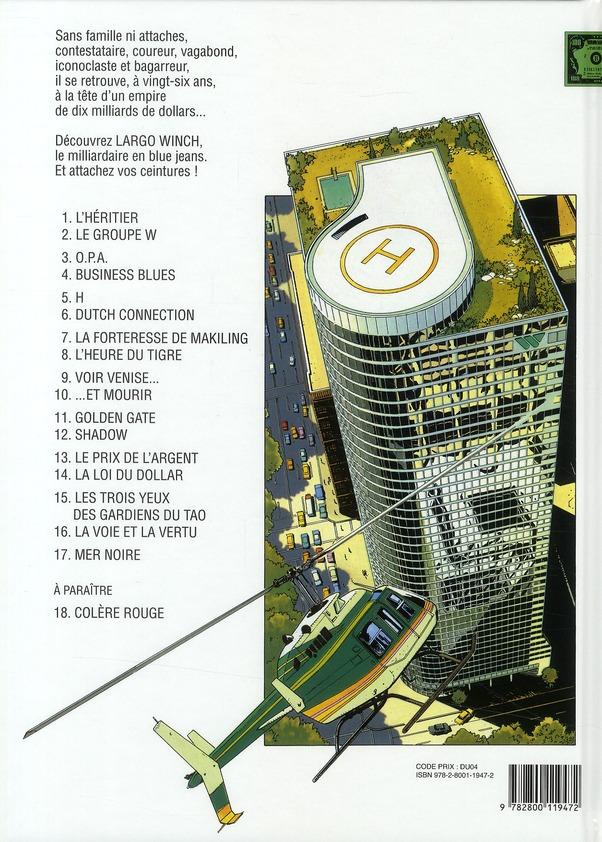 Largo Winch T.3 ; O.P.A.